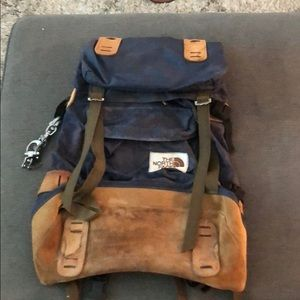 Vintage The North Face Backpack Hiking Outdoors